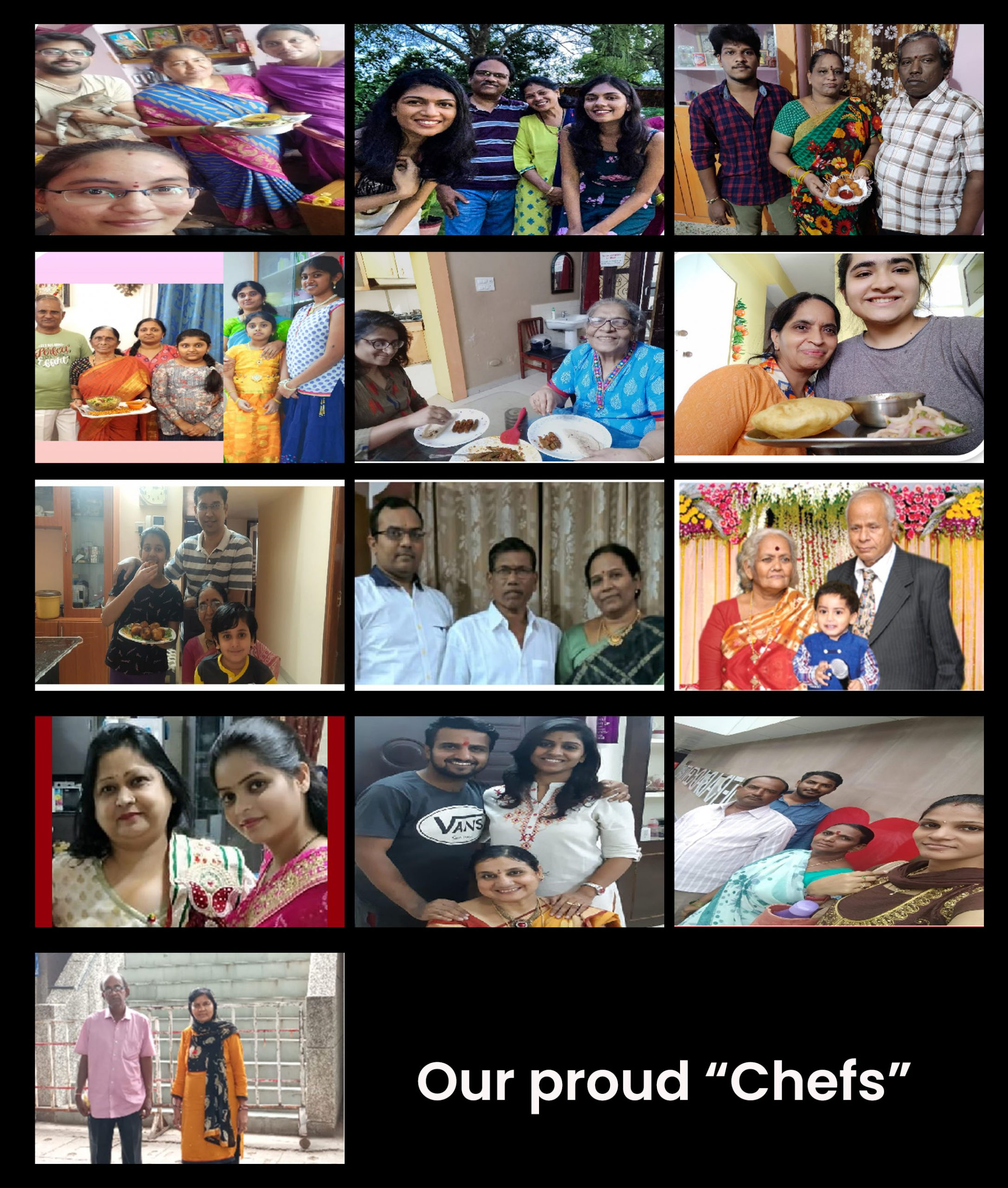 """Our proud """"Chefs"""""""